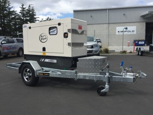 air-compressor trailer single axle