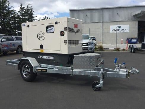 air-compressor trailer single axle