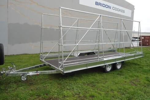 custom trailer joinery transporter