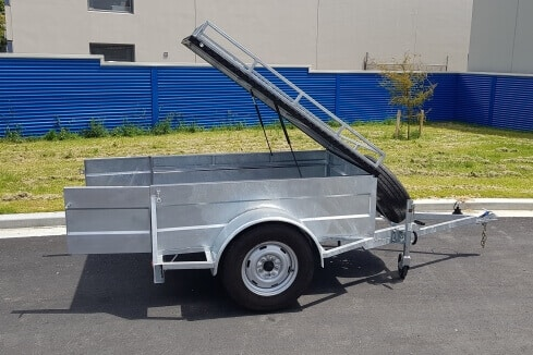 custom trailer for small scale camping