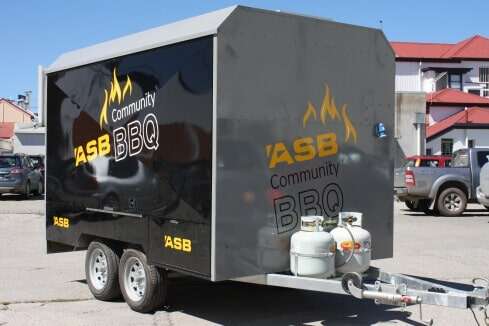ASB BBQ custom trailer